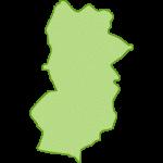 【日本地図】奈良県の地図イラスト