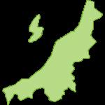 【日本地図】新潟県の地図イラスト