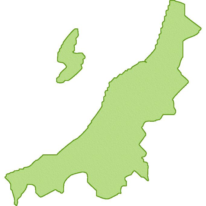 【日本地図】新潟県の地図イラスト | 無料フリーイラスト素材 ...