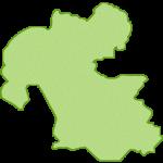 【日本地図】大分県の地図イラスト