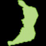 【日本地図】大阪府の地図イラスト