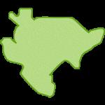【日本地図】佐賀県の地図イラスト
