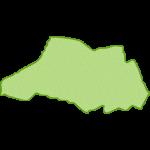 【日本地図】埼玉県の地図イラスト