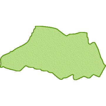 埼玉県の地図イラスト