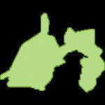 【日本地図】静岡県の地図イラスト