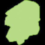 【日本地図】栃木県の地図イラスト