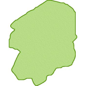 栃木県の地図イラスト