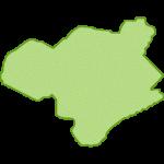 【日本地図】徳島県の地図イラスト