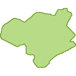 徳島県の地図イラスト