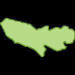 【日本地図】東京都の地図イラスト