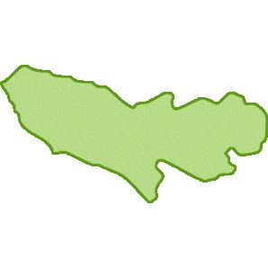 東京都の地図イラスト