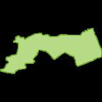 【日本地図】鳥取県の地図イラスト