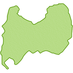 富山県の地図イラスト