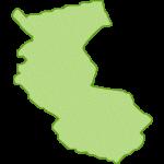 【日本地図】和歌山県の地図イラスト