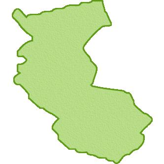 和歌山県の地図イラスト