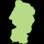 【日本地図】山形県の地図イラスト
