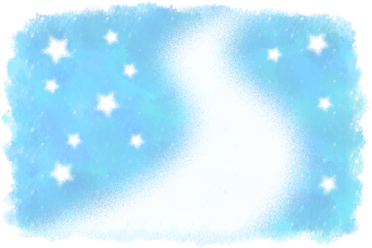 七夕イラスト】天の川の背景素材(水彩画風) | 無料フリーイラスト