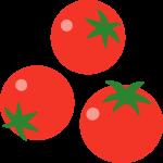 プチトマト(ミニトマト)のイラスト