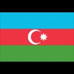 アゼルバイジャンの国旗イラストフリー素材