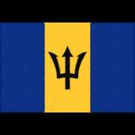 バルバドスの国旗イラストフリー素材