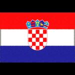 クロアチアの国旗イラストフリー素材