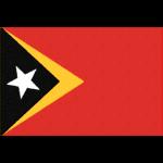 東ティモールの国旗イラストフリー素材
