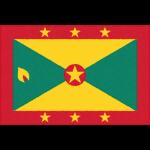グレナダの国旗イラストフリー素材
