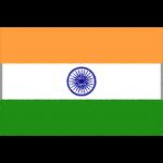 インドの国旗イラストフリー素材