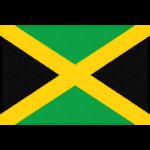 ジャマイカの国旗イラストフリー素材