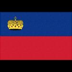 リヒテンシュタインの国旗イラストフリー素材