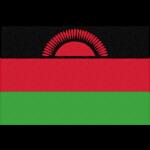 マラウイの国旗イラストフリー素材