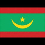 モーリタニア・イスラム共和国の国旗イラストフリー素材