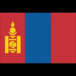 モンゴルの国旗イラストフリー素材