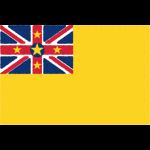 ニウエの国旗イラストフリー素材