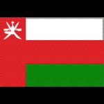 オマーンの国旗イラストフリー素材