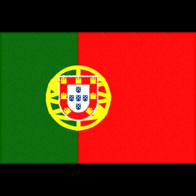 ポルトガルの国旗イラストフリー素材