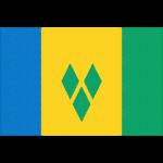 セントビンセント・グレナディーンの国旗イラストフリー素材