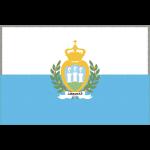 サンマリノの国旗イラストフリー素材