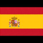 スペインの国旗イラストフリー素材