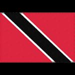 トリニダード・トバゴの国旗イラストフリー素材