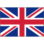 イギリスの国旗(ユニオンジャック)イラストフリー素材