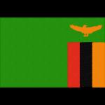 ザンビアの国旗イラストフリー素材