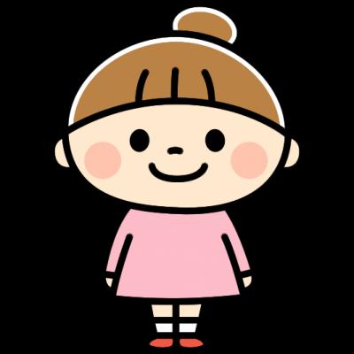 かわいい女の子のイラスト