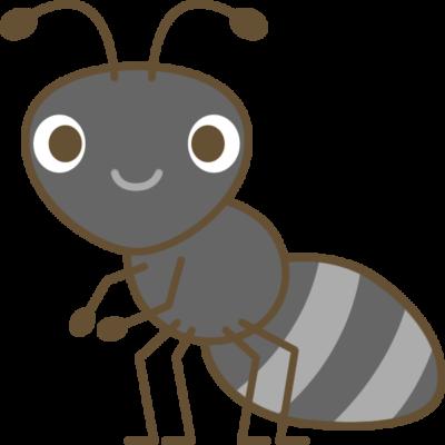 蟻(アリ)のイラスト