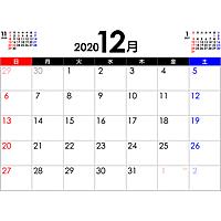 PDFカレンダー2020年12月
