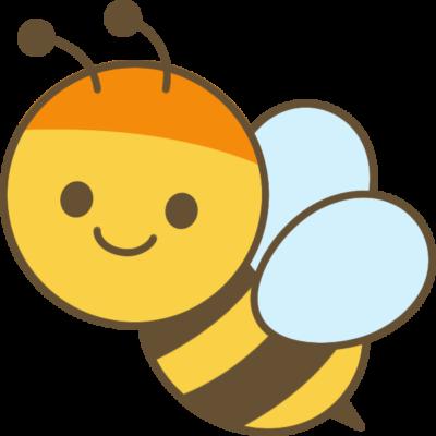 蜜蜂(ミツバチ)のイラスト