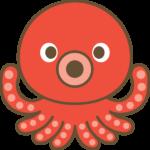 蛸(たこ)のイラスト